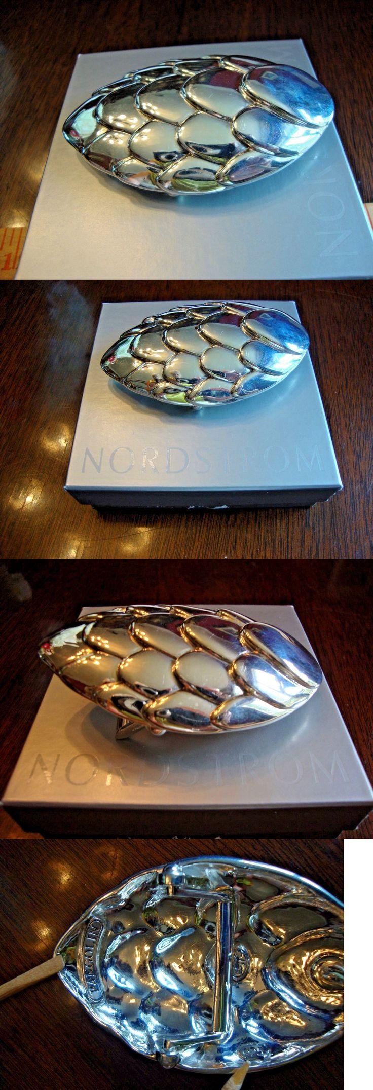 Belt Buckles 86647: New African Pangolin 925 Sterling Silver Belt Buckle: 3.75 W X 2 D, Msrp $348 Uk -> BUY IT NOW ONLY: $115 on eBay!