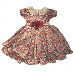 Vestido Estampado Tigrado Petit Cherie