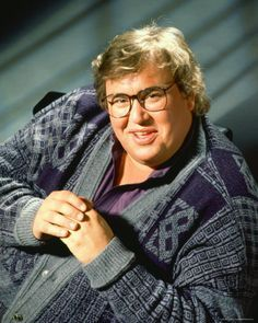 John Franklin Candy (October 31, 1950 – March 4, 1994) a Canadian actor and comedian. He rose to fame as a member of the Toronto branch of The Second City &  Second City Television series, & through his appearances in comedy films such as Stripes, Splash, Cool Runnings, The Great Outdoors, Spaceballs, and Uncle Buck. One of his most renowned onscreen performances was as Del Griffith, the loquacious, on-the-move shower-curtain ring salesman in the John Hughes comedy Planes, Train...