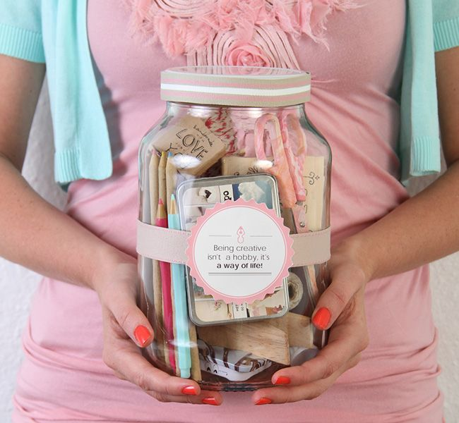 5 gifts in jar #KidsCraft #GiftJars #SouthAfrica