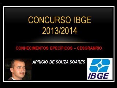 CONCURSO DO IBGE - CONHECIMENTOS ESPECÍFICOS 9