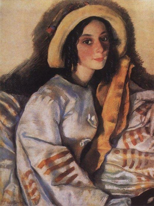 Зинаида Евгеньевна Серебрякова: Портрет М. Х. Франгопуло. 1922