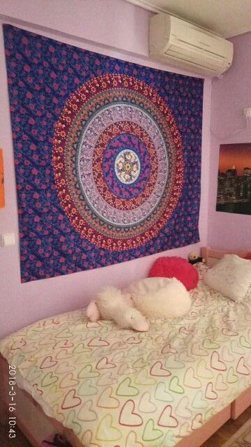 Mandala Indian Wall Hanging Bohemian Tapestry