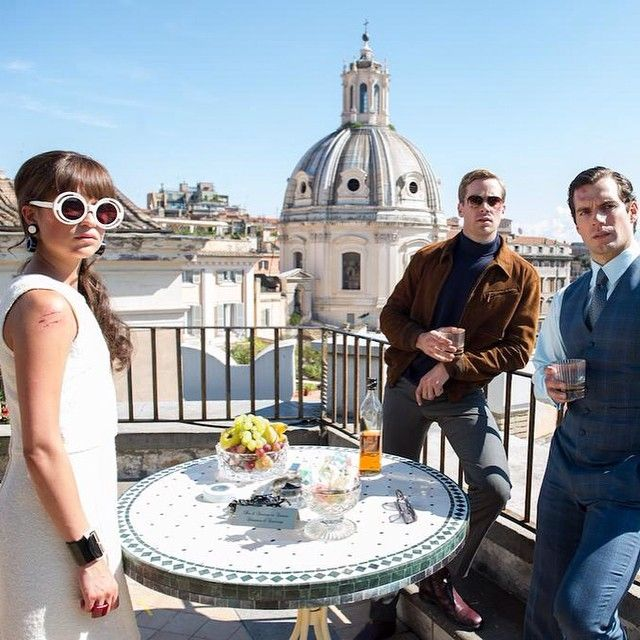 """601 Likes, 17 Comments - The Man From Uncle (@themanfromuncle) on Instagram: """"A higher class of hero. See #HenryCavill, #ArmieHammer and #AliciaVikander in the new trailer for…"""""""