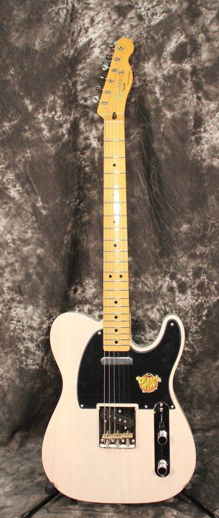 Squier Classic Vibe Telecaster '50s Electric Guitar Vintage Blonde #electricguitar #vintageguitars