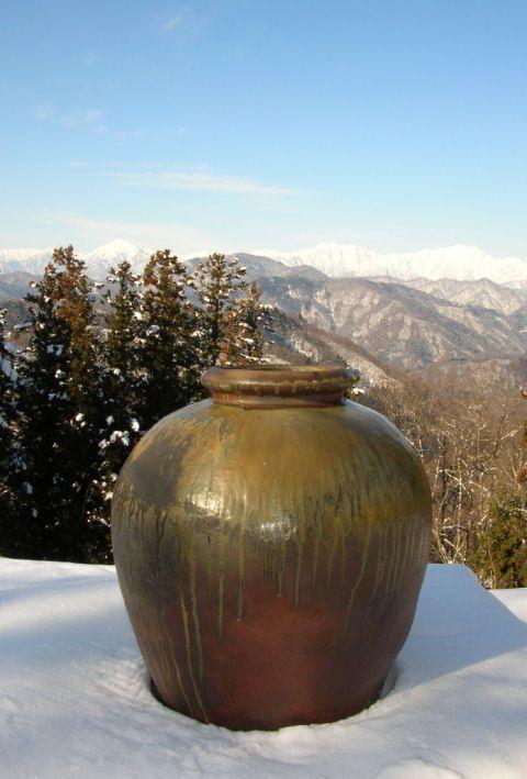 natural graze pottery.