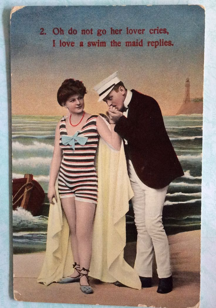 Vintage seaside postcard