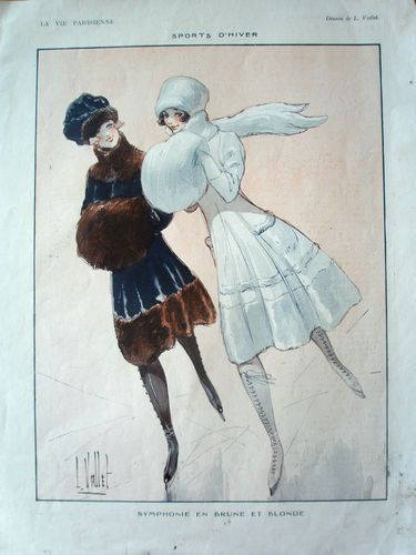 Ladies Ice Skating