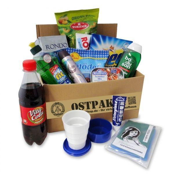 Geschenkset Ostprodukt Ostpaket Intershop klein 14 typische Kultprodukte der DDR