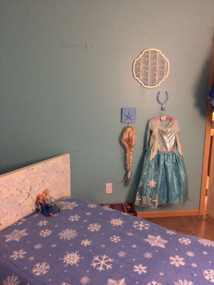 Disney Frozen Girl S Bedroom Inspiration Little Girl