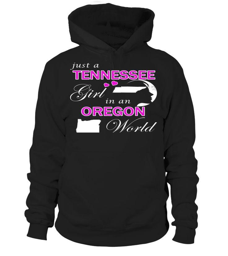 Just a Tennessee Girl in an Oregon World State T-Shirt #TennesseeGirl