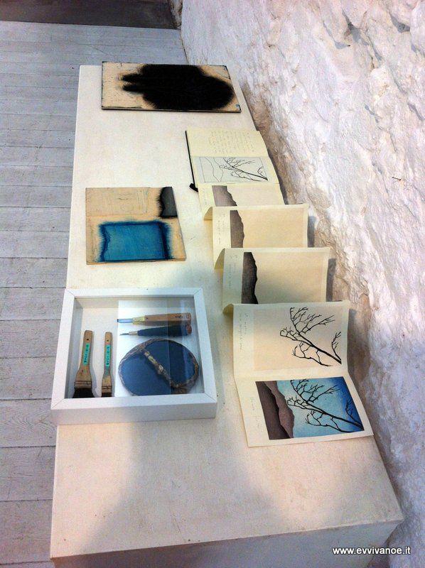 Sketchbook Mara Cozzolino mokuhanga baren and print tools
