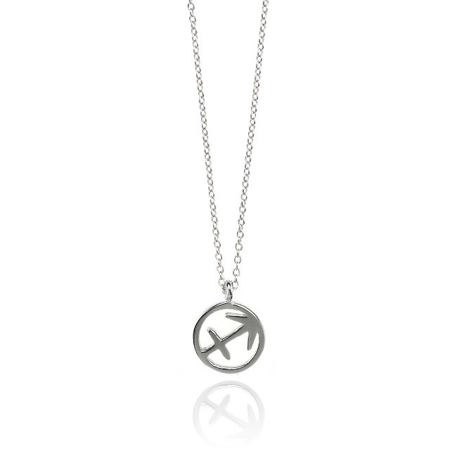 SAGITTARIUS NECKLACE - SILVER