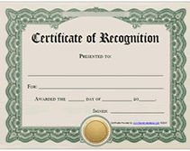 Best 25 certificate of recognition template ideas on pinterest free printable recognition award certificates for keeping up with me for 3 years yelopaper Image collections