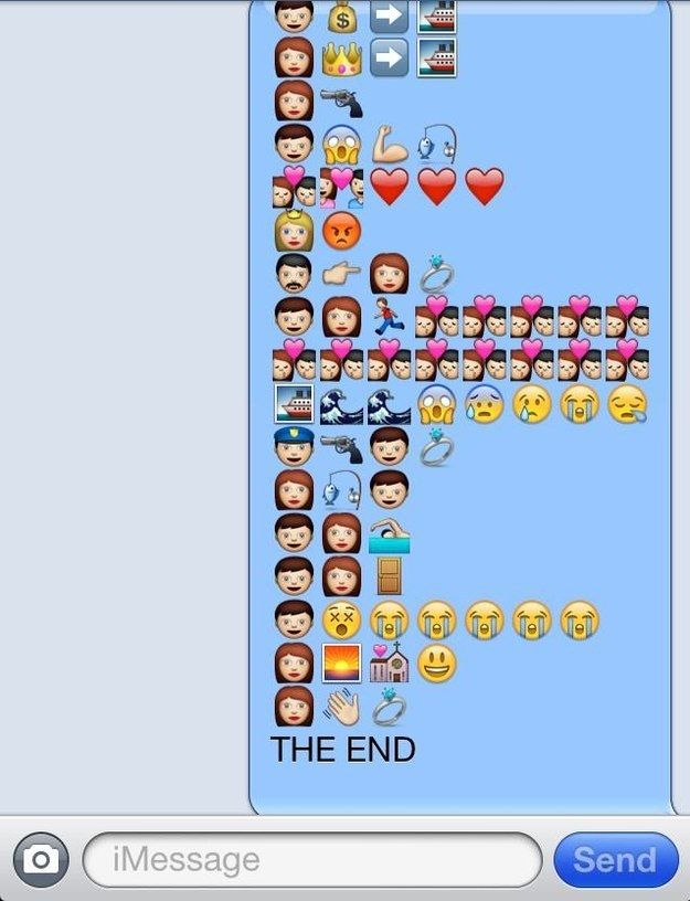Titanic | The 18 Greatest Emoji Stories Ever Told