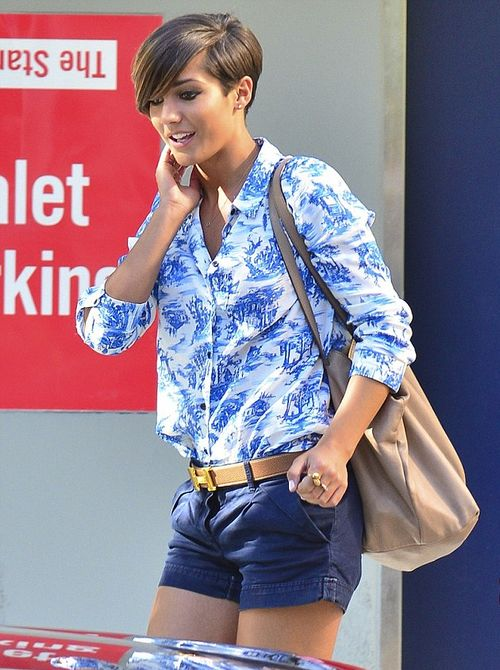 Frankie Sandford .... her style ...