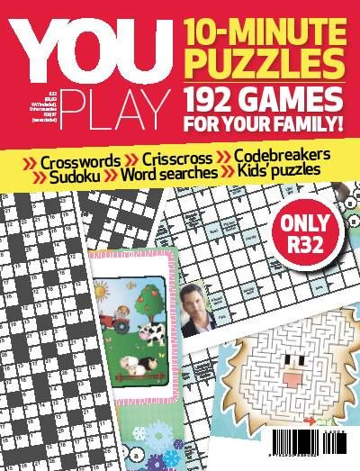 YOU Play - 10 Minute Puzzles. Crosswords. Games.
