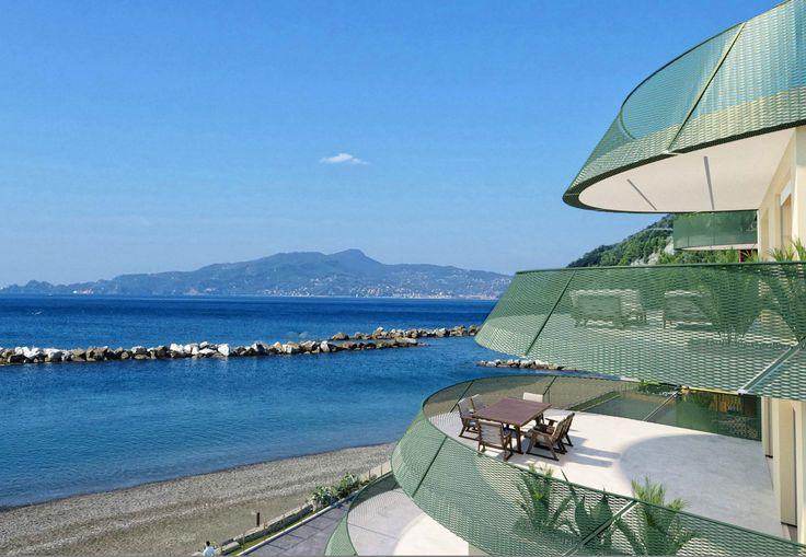 Magnifiche terrazze sul mare Immobiliare, Terrazzo e Case