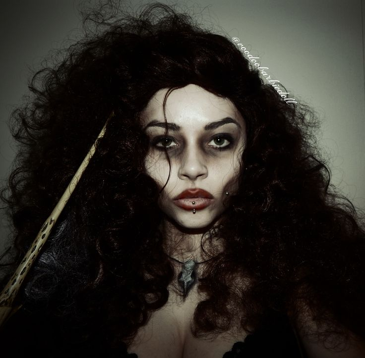 bellatrix lestrange makeup - 736×723