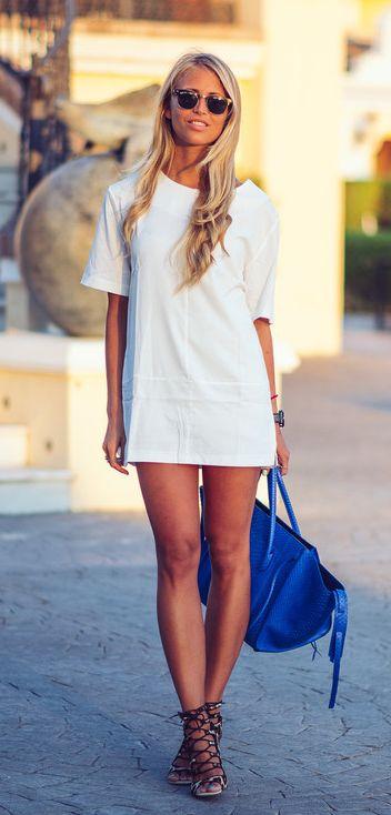 Mini #vestido, grande estilo.