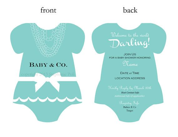 42 best images about baby shower invitations on pinterest | jungle, Baby shower invitations