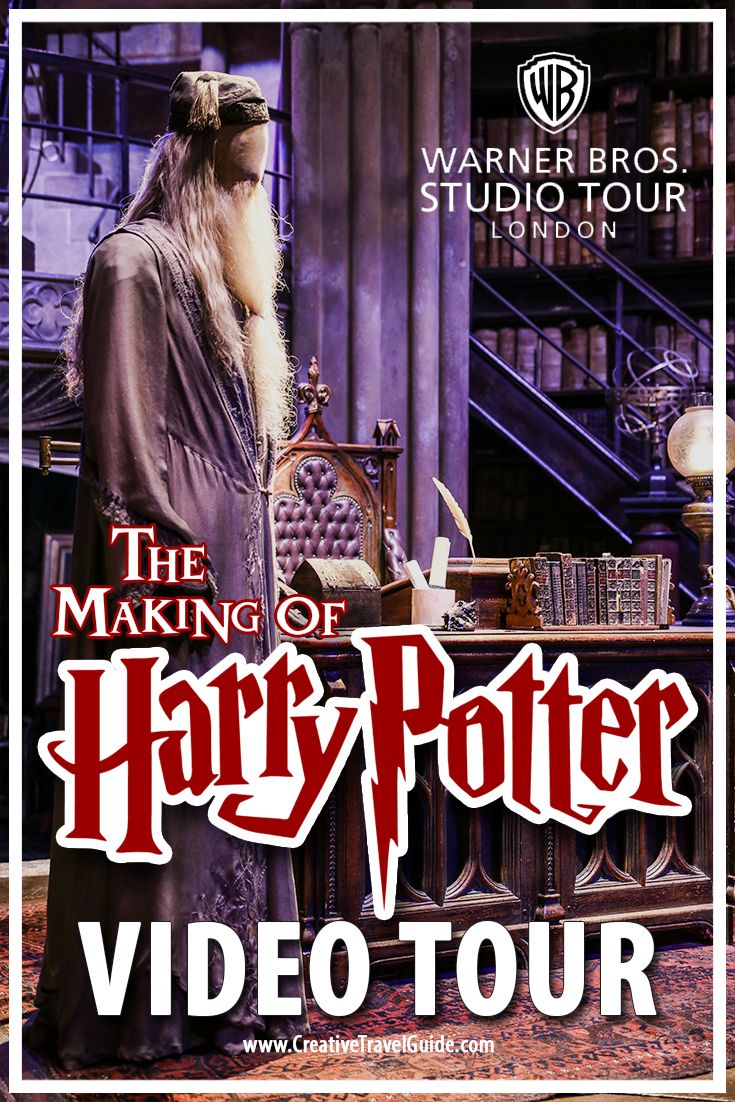Check out this video of the sets of Harry Potter in London! Video Studio Tour of The Making of Harry Potter.