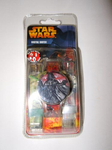 Star Wars Mix & Match Kids Digital Watch including 3 interchangeable bands and covers (Darth Vader  @ niftywarehouse.com #NiftyWarehouse #Geek #Products #StarWars #Movies #Film