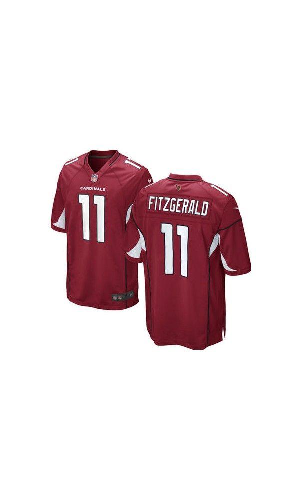 NFL Men's Arizona Cardinals Larry Fitzgerald Cardinal #Game #Jersey