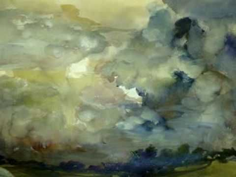 """WATERCOLOR , """"Wet in Wet, Demontration by MILLIE GIFT SMITH"""