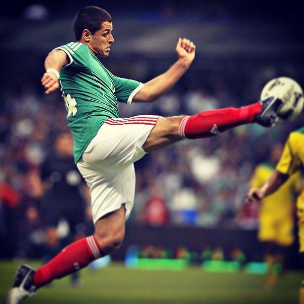 """Javier Hernández, nuestro """"Chicharito"""" #seleccionmexicana #mexico #futbol #soccer #sports"""