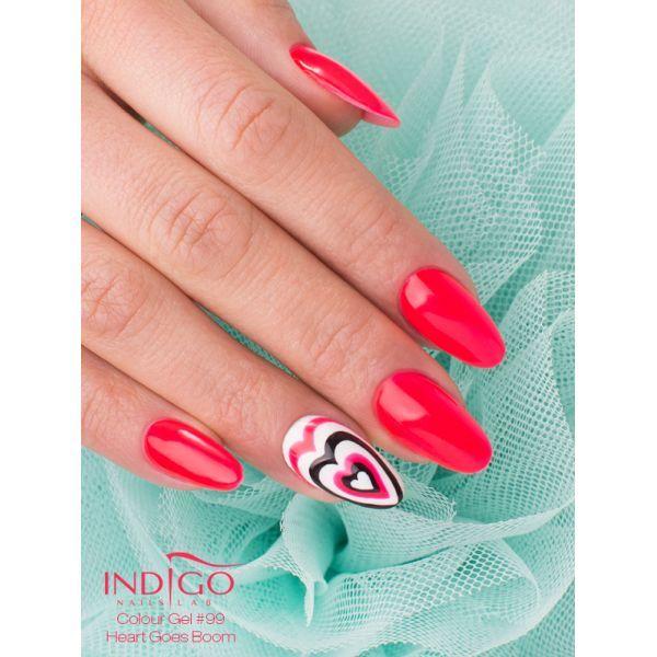 Double Tap if you like #nails #nailart #nailpolish #icon Find more Inspiration at www.indigo-nails.com