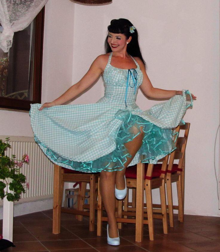 19 best Gingham dress images on Pinterest | Gingham dress ...