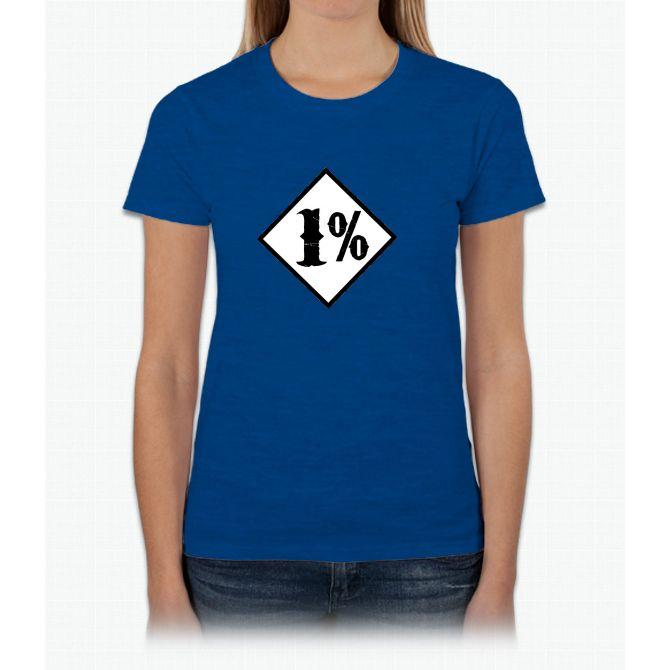 1 percenter Womens T-Shirt
