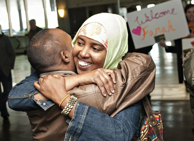 After a ten-year separation caused by civil war in Somalia, a family was reunited on April 16 in Greensboro, N.C., aided by law students in the #Elon University School of Law. Read more: http://www.elon.edu/e-net/Article/92390