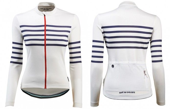 Claudette is the long sleeve version of our iconic striped jersey. With a tailored female specific fit and constructed from a highly technical merino blend with a dash of silk, it combines fantastic performance across a range of conditions and extreme comfort.