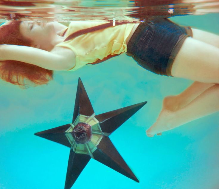 Misty and Staryu >.< from pokemon, this is too cool!