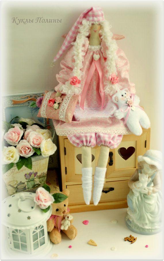 fabric doll Tilda Sofy Cloth doll gift for her ♡ by MyShopDolls