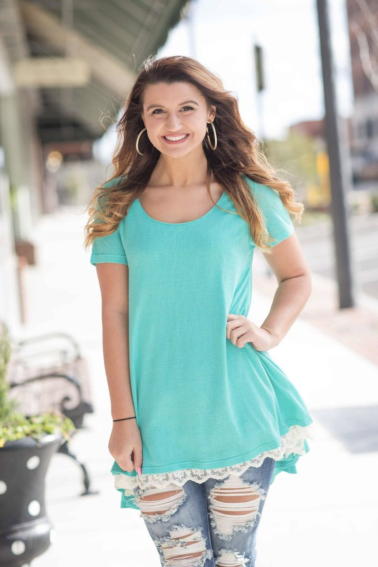 Girl Night Out Top - Mint
