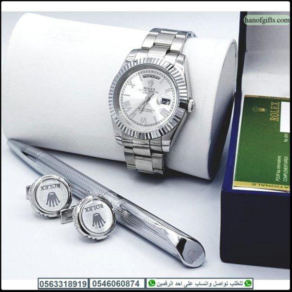 ساعات رولكس رجالي مع قلم و كبك رولكس و علبه فخمه هدايا هنوف In 2020 Mesh Strap Watch Mesh Strap Rolex Watches
