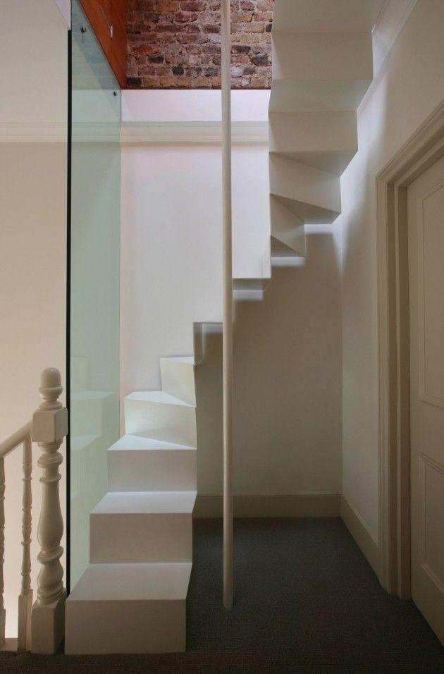 Simple Loft Access Design By Tamir Addadi Architecture Latest Architecture  Ideas