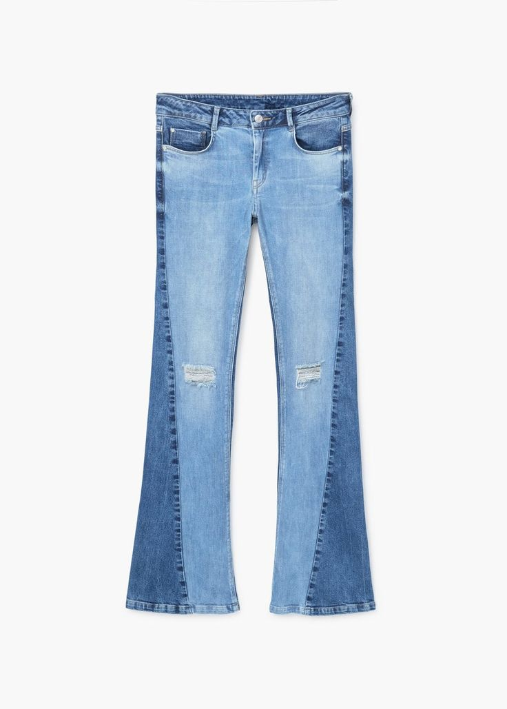 Flared jeans twotones - Damen | MANGO. SS Trends 2017