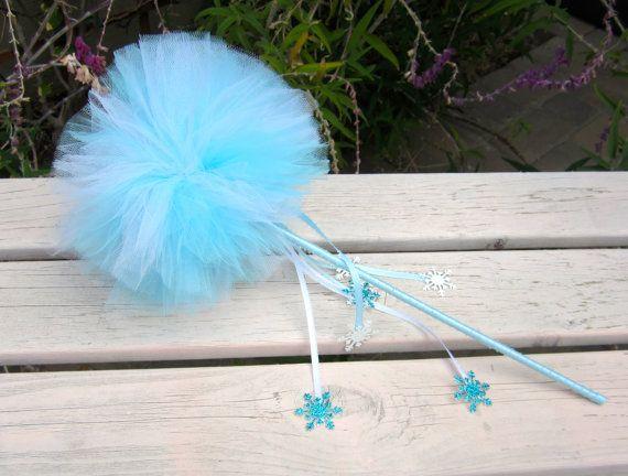 FrozenTutu Wand Frozen Party Favor Elsa Princess by PiaMiaBoutique, $10.00