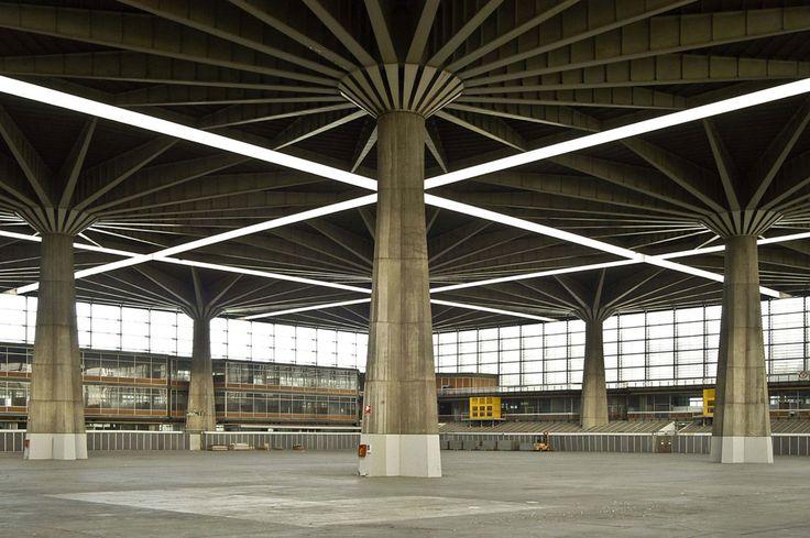 Pier Luigi Nervi, tommaso buzzi · Palazzo del Lavoro · Divisare