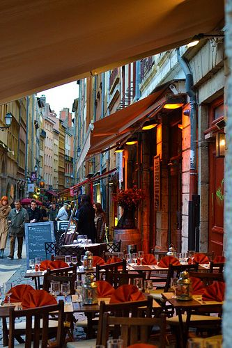 The bouchons in Lyon are fantastic. I loved eating my way through Lyon.