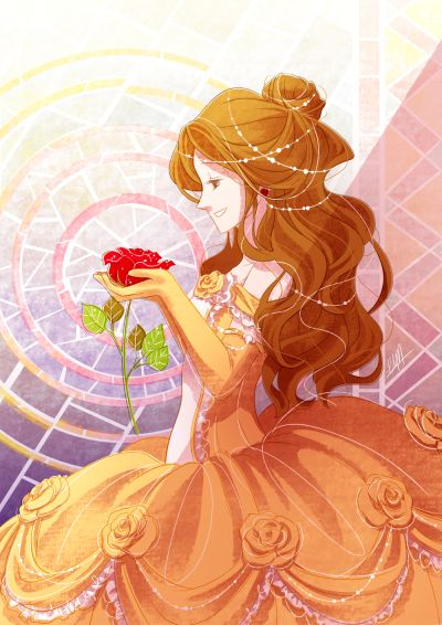 Belle. Oh my goodness, this is so pretty!