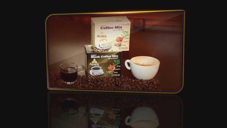 Ayura Herbal Cappuccino és Black Coffee