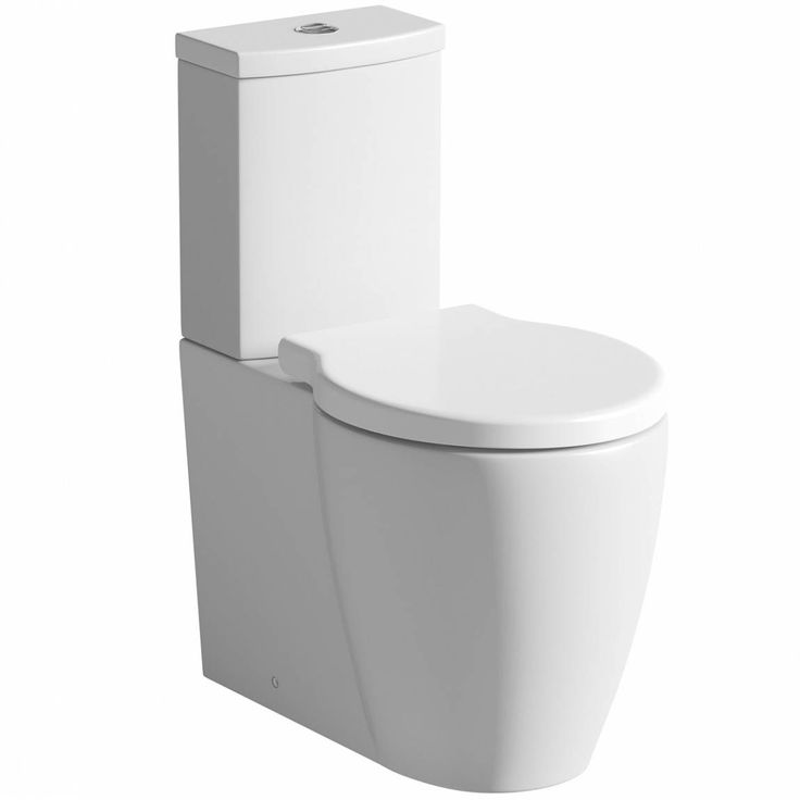 Maine Close Coupled Toilet inc Luxury Soft Close Seat £179 eco water saving