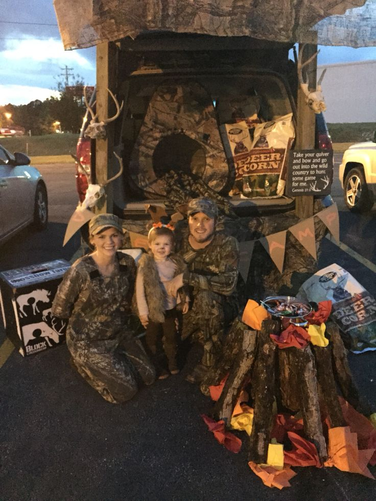 Trunk or Treat. Hunting theme.
