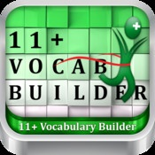 11+ Vocabulary Builder by Eleven Plus Exams -  Help your child succeed in the 11plus exams and get into the school of your choice with this fun app which is a key component in two disciplines of the exams.
