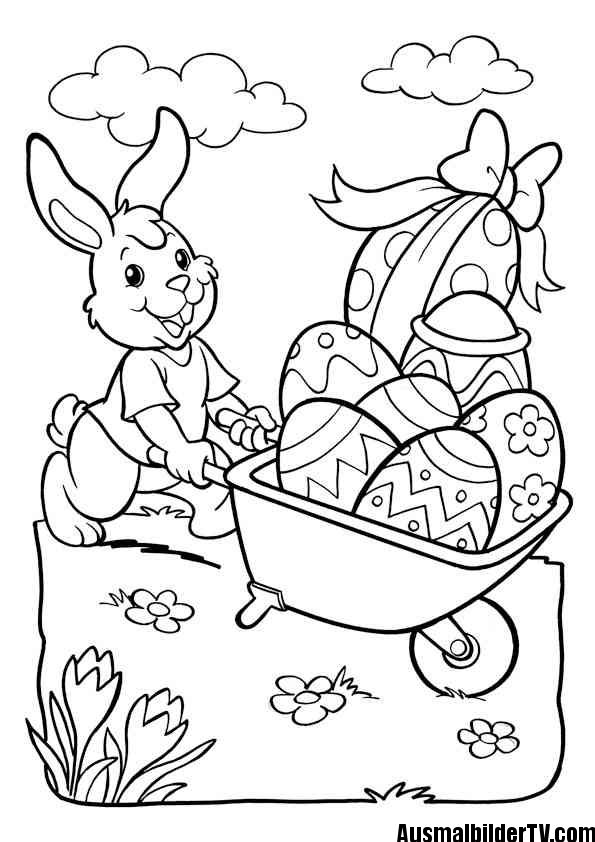 Ausmalbilder Ostern zum Ausdrucken - 1Ausmalbilder
